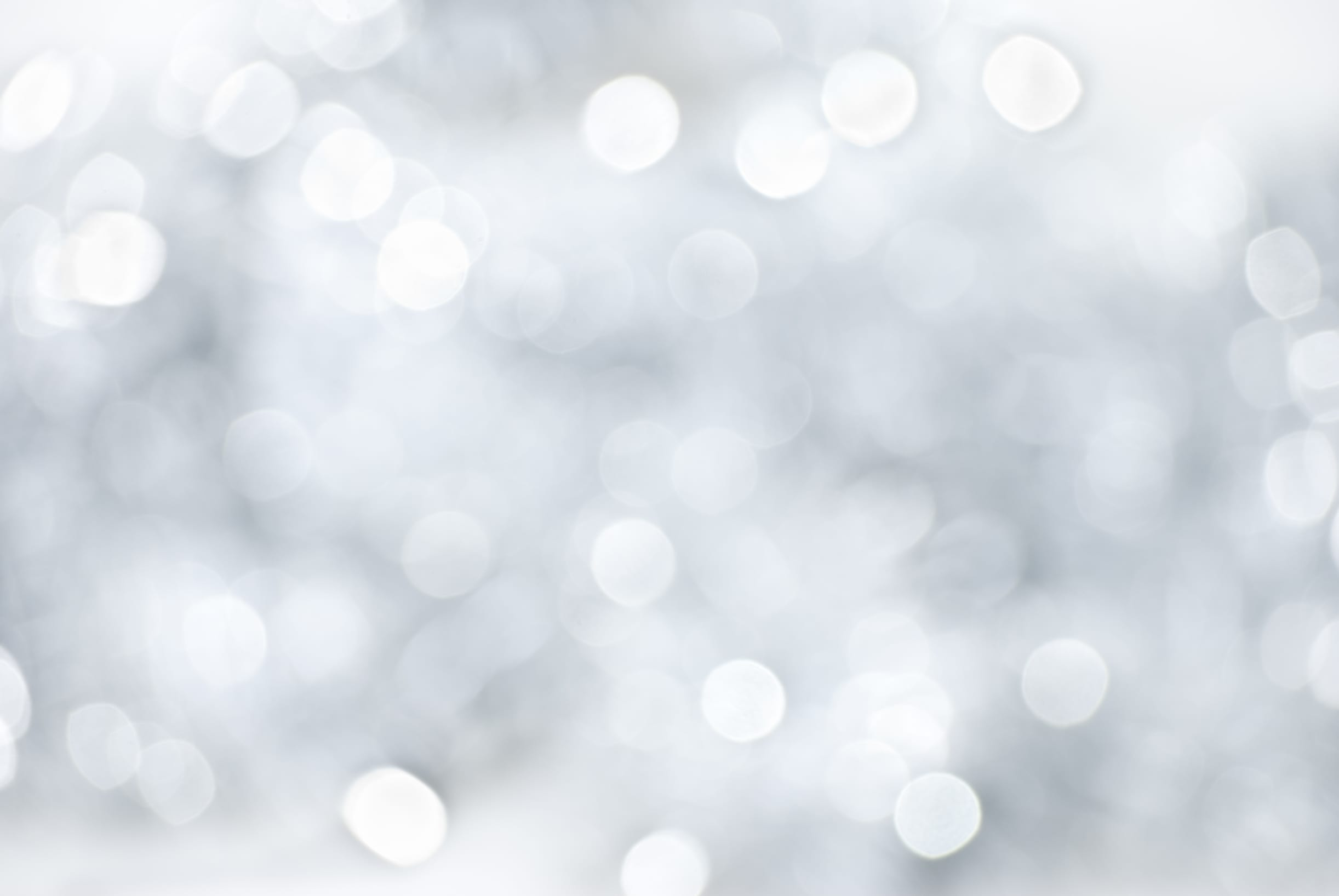 White-christmas-light-background