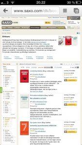 Livsfarlig mest populære erhvervsbog på Saxo.com