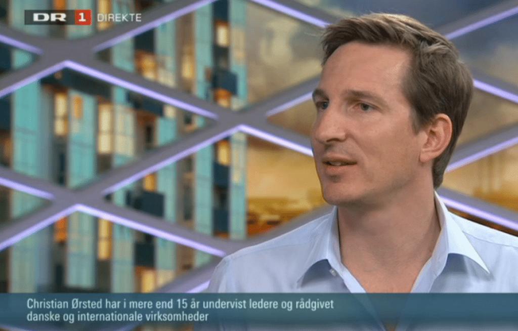 Christian Ørsted i DR Aftenshowet. Klik på billedet og se indslaget.